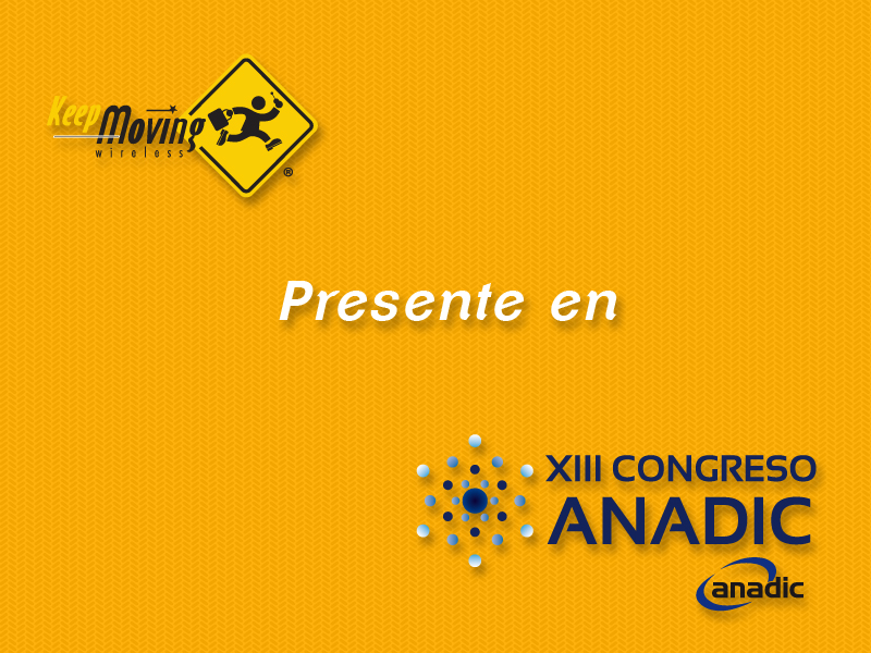 Keep Moving presente en el XIII Congreso ANADIC
